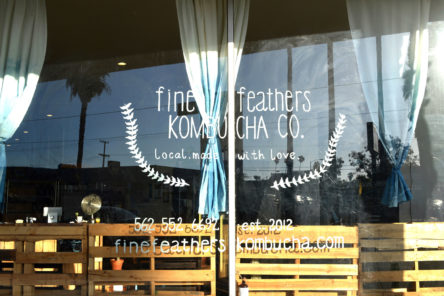 Fine Feathers Kombucha Co. Long Beach, California. Local. Made with Love.